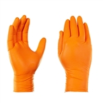 Gloveworks HD Orange Nitrile, 100 gloves