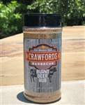 Crawford's Barbecue Burnt Beef Rub, 12oz