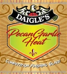 Daigle's Pecan Garlic Heat Glaze, 12oz