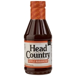 Head Country Apple Habanero BBQ Sauce, 20oz