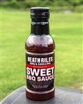 Heath Riles BBQ Sweet BBQ Sauce, 21oz