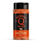 Kosmo's Cow Cover HOT Rub, 10.5oz