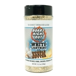 Boars Night Out White Lightning Double Garlic Butter, 12.2oz