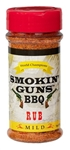 Smokin' Guns Mild Rub, 7oz