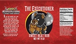 "The Executioner ""Sweet Heat BBQ Rub"", 5lb"