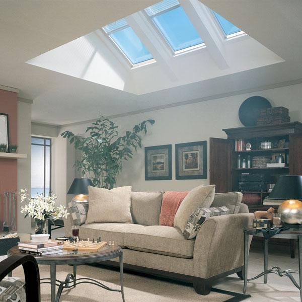Fs a06 velux skylight fixed for Velux cladding kit