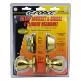 Combo Entry Lock Brass G Force