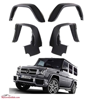 G-Wagon G63/G55 Fender Flare Set (4 Pieces) 02-11 W463 G550/G55