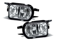 REPLACEMENT FOG LAMPS WITHOUT SPORT PAIR (PASSENGER AND DRIVER SIDE) SLK/W203/W209/W215