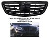 S-CLASS ALL BLACK SHINY FRONT GRILLE S65 STYLE W222 2014-2018 S550 S350 S400 S63