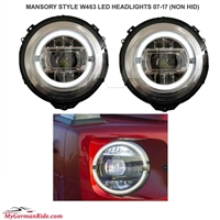 2018 STYLE G-WAGON HEADLIGHT WITH LED W463 G500/G55/G550 1990-2017 (FITS ON NON HID CARS)