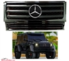 G-WAGON ALL BLACK GRILLE W/CHROME STAR W463 1990-2018 G500 G55 G550 G63