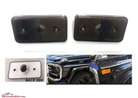 G-Wagon Smoke Side Marker Fits Front Or Rear Set Of 2 Lights 1994-2014 W463 G500/G55/G550/G63