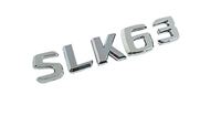 SLK63 CHROME TRUNK EMBLEM LOGO 05-12 R171