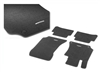 GENUINE SLK MERCEDES-BENZ BLACK CARPETED FLOOR MATS SET OF 4 PCS 05-11 R171  SLK300/SLK350/SLK55 A17168018489F87