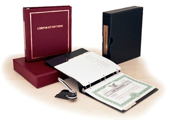 LLC and Corp Binder and Embosser