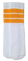 Kids socks with Gold stripes