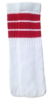 Kids socks with Red stripes