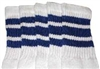 Kids socks with Royal Blue stripes