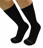 Mens Black Italian Dress socks