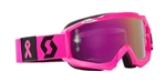 Scott Hustle Goggles Limited Edition Breast Cancer Awareness