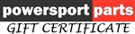 PowersportParts.Net Gift Certificate