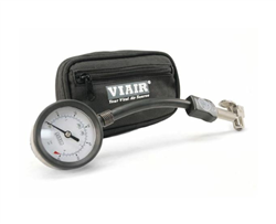 3-in-1 Air Down Gauge (0 to 60 PSI, with Heavy Duty Press-On Chuck and Storage Pouch)