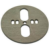 Upper or Lower Bag Plate Centered/ Offset Dual Port