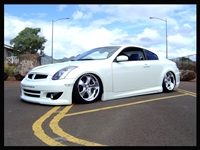 Infiniti G35 Coupe 2003-2007 with air management options