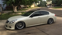 Infiniti G37 Sedan AWD 2007-2015 with air management options