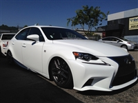 Lexus IS 2014+ with air management options