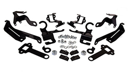 2016-2018 Chevy Camaro Height Sensor Brackets (includes front & rear brackets)