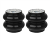 "[2] Pack Slam RE-8 Single 1/2"" Port Air Spring 200 PSI Evolution Series 8"" Diameter, Sold as pair!"