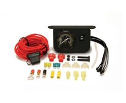 Illuminated Dash Panel Gauge Kit (150 PSI, 30 Amp)