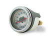 "Air Lift Dual Needle 200 Psi Max 2"" White Face Gauge with (2) 1/8"" Female NPT Barbed Fitting For 1/4"" OD Airline, sold each!"