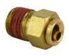 "Alkon DOT 1/4 PTC X 1/4"" NPT Male Connector"