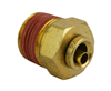 "Alkon DOT 1/4 PTC X 3/8"" NPT Male Connector"