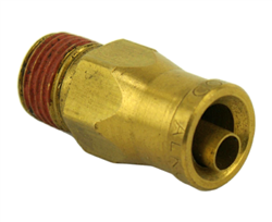 "Alkon DOT 1/4 PTC X 1/8"" NPT Male Connector"