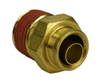 Alkon 1/2 Hose X 1/4 NPT Male Connector
