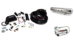 "Air Lift Performance 3P (1/4"" Air Line, 5 Gallon Lightweight Polished Aluminum Tank, VIAIR 444C Compressor)"