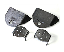"Over Axle 3"" Axle Brackets With Top Bag Mounts, Sold as pair!"