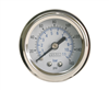 "Viair 1.5"" Diameter 160 Psi Single Needle Gauge White Face 90084 (No Back Light), sold Each!"