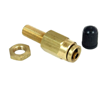 "Alkon 1/4"" Push - to connect Inflation Valve, For 1/4"" OD Airline/Tubing Only- Sold Each"