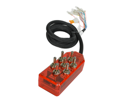 AVS ARC-T7 Series Red Switch box