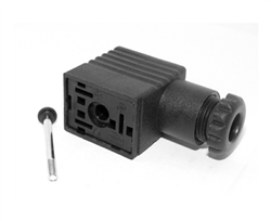 "ASCO 1/4"" Valve DIN Connector"