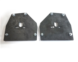 Full Size Chevy 63-87 C-10 UPPER ONLY Bag Plates, sold as pair!
