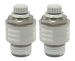 2 SMC PN ASN2-N04-S Slow Down valve