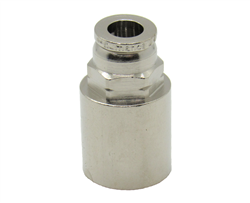 "Nickel Plated Brass 1/4"" PTC X 1/4"" Female NPT Fitting"