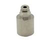 "Nickel Plated Brass 1/8"" PTC X 1/4"" Female NPT Fitting"