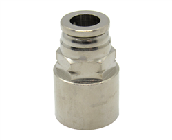 "Nickel Plated Brass 3/8"" PTC X 3/8"" Female NPT Fitting"